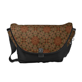 Oriental Decor pattern v4 Courier Bags