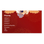 Oriental Delight Business Card Templates