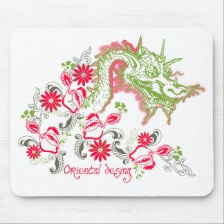 Oriental desing mousepad