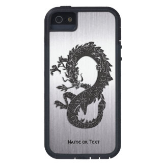 Oriental Dragon Black iPhone 5 Covers