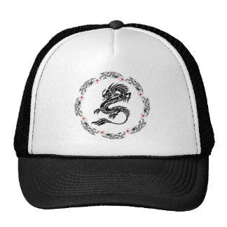 Oriental dragon design  by Kanjiz Cap