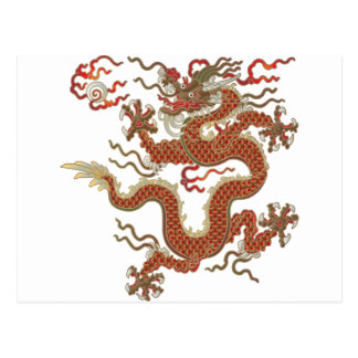 Oriental Dragon Postcards