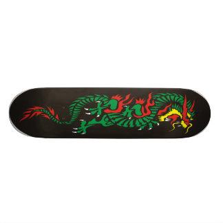 oriental-dragon skate board deck