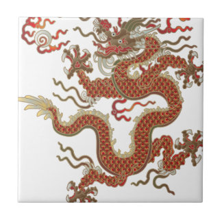 Oriental Dragon Tile