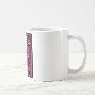 Oriental Dream Colorful Painting Basic White Mug