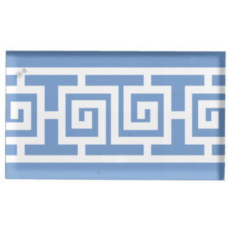 Oriental Elegance in Periwinkle Table Card Stand Table Card Holder