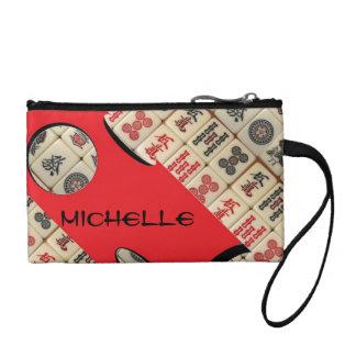 Oriental expression coin purse