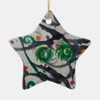 Oriental Fir Tree Christmas Ornament