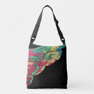 Oriental Fish Fin from the West China Sea! Crossbody Bag