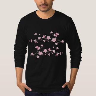 Oriental Flower-Cherry Blossom T-Shirt