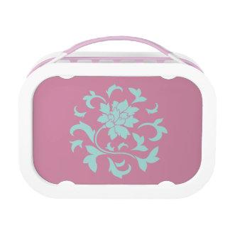 Oriental Flower - Limpet Shell Circular Pattern Lunch Box
