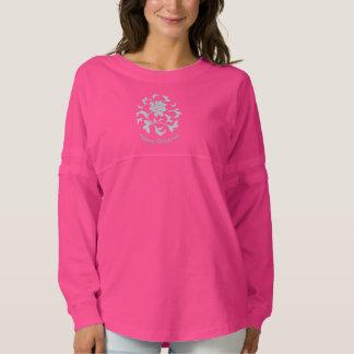 Oriental Flower-Limpet Shell-Merry Christmas-Pink Spirit Jersey