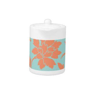 Oriental Flower - Limpet Shell - Orange
