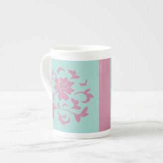 Oriental Flower - Limpet Shell - Pink Tea Cup