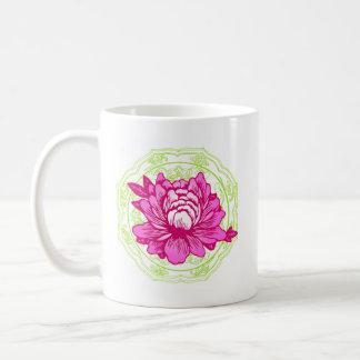 Oriental Flower Mug
