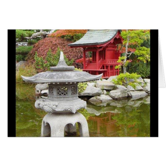 Oriental Garden Card