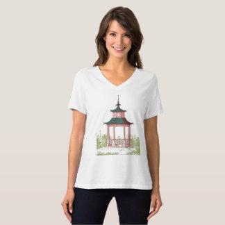 Oriental Garden Pagoda Gazebo or Nature Landscape T-Shirt