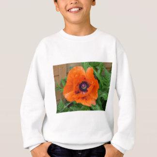 Oriental Garden Poppy Sweatshirt