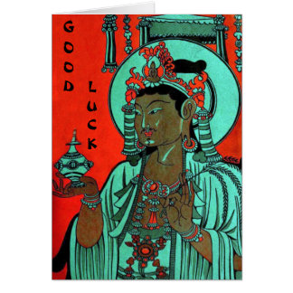 Oriental Good Luck Card