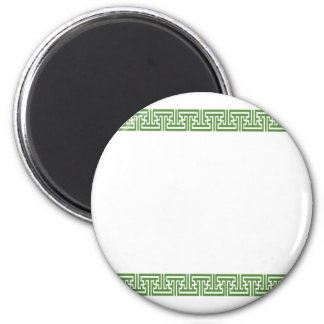 Oriental Japense Standard 2¼ Inch Round Magnet