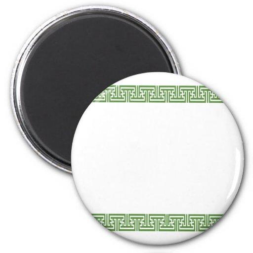 Oriental Japense Standard, 2¼ Inch Round Magnet