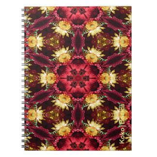 Oriental Kaleidoscope Notebooks