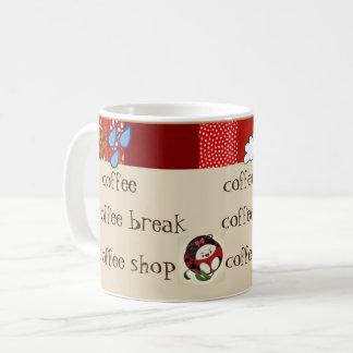 Oriental Ladybugette coffee Coffee Mug