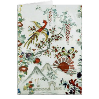 Oriental Landscape Card