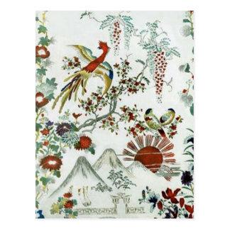 Oriental Landscape Postcard
