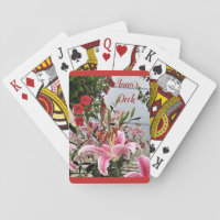 ORIENTAL LILIES - PLAYING CARDS