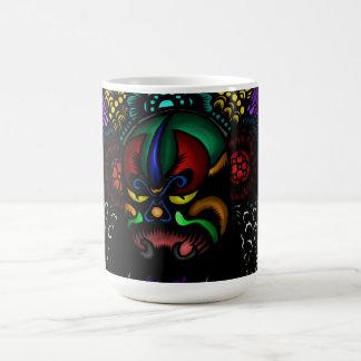 Oriental Mask Coffee Mug