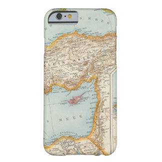 Oriental Mediterranean Map Barely There iPhone 6 Case