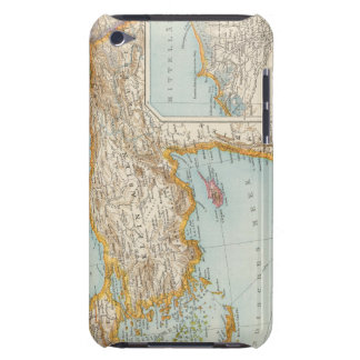 Oriental Mediterranean Map Barely There iPod Covers