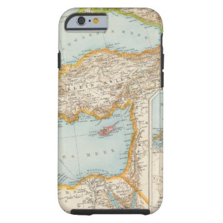 Oriental Mediterranean Map Tough iPhone 6 Case