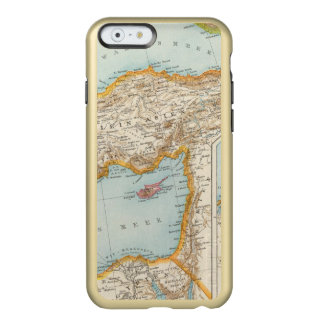 Oriental Mediterranean Map Incipio Feather® Shine iPhone 6 Case