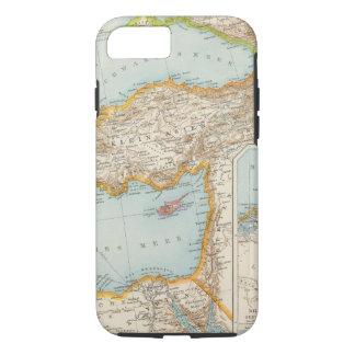 Oriental Mediterranean Map iPhone 7 Case