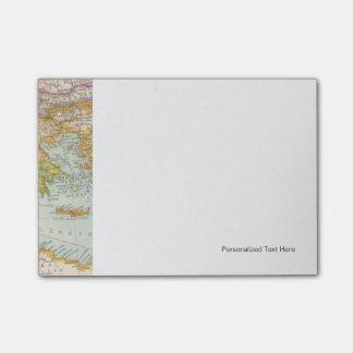 Oriental Mediterranean Map Post-it Notes
