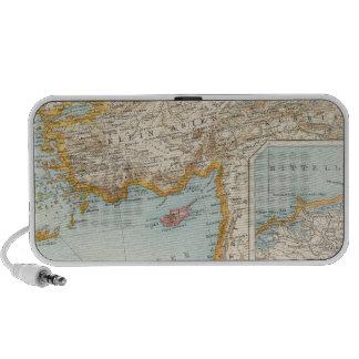 Oriental Mediterranean Map Mp3 Speaker