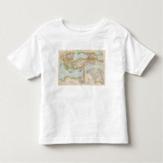 Oriental Mediterranean Map Toddler T-Shirt