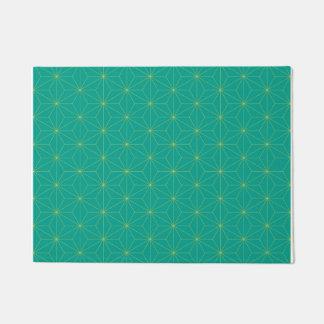 Oriental Pattern green Doormat