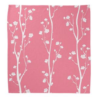 Oriental plum blossom pattern bandana