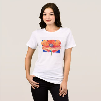 Oriental Poppy T Shirt