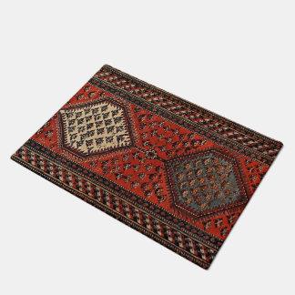 Oriental red runner pattern doormat