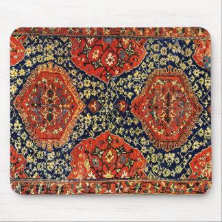 Oriental rug in blue &orange mouse mat