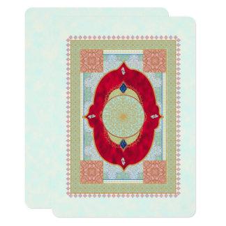 Oriental Rug - Invitation Card