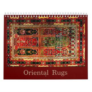 Oriental rugs 2016 wall calendar