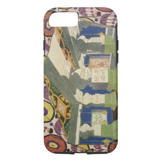 Oriental Scenery Design (colour litho) 2 iPhone 8/7 Case