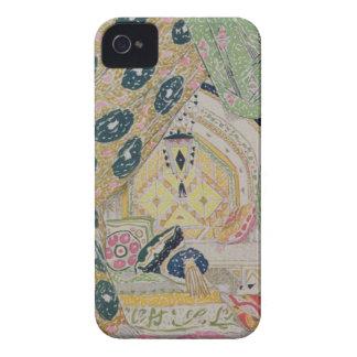 Oriental Scenery Design (colour litho) Case-Mate iPhone 4 Case