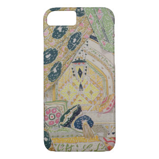 Oriental Scenery Design (colour litho) iPhone 7 Case