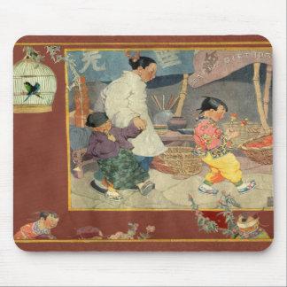 Oriental Scrapbook Mousepad
